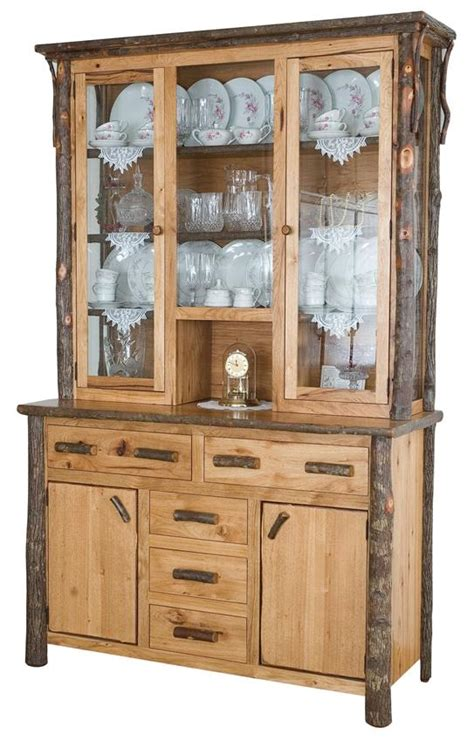 china hutch rustic amish china hutch