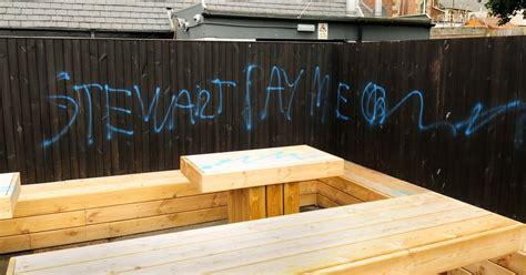 spray painter vacancies glasgow spray paint vandal targets pub in prestwick with