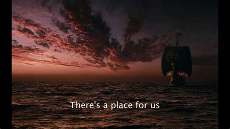 There S A Place Lyrics Carrie Underwood There S A Place For Us Lyrics