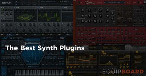 best vst synth 5 best vst synths december 2016 equipboard 174