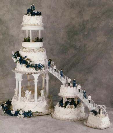 stairway wedding cakes   stairway to heaven   Elegant