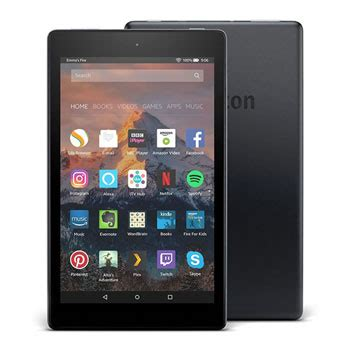"amazon fire hd 8 tablet with alexa, 8"" hd display, 32 gb"