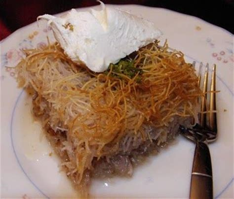ottoman desserts recipe for kadayif a turkish dessert made from shredded