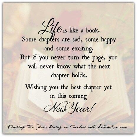 life is like a book cheers to turning new pages and