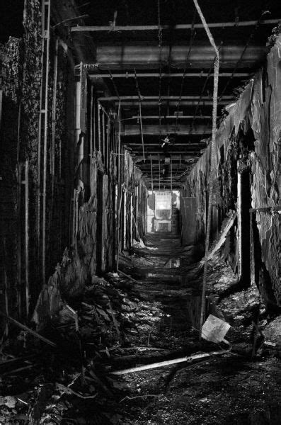 Hallway - Photo of the Abandoned Philadelphia State