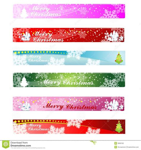 christmas web banner 468 60 stock photography image 3669192