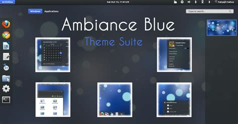 gnome themes webupd8 theme updates ambiance blue theme pack elegance gnome