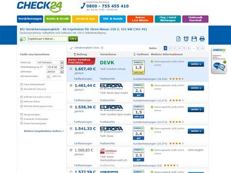Kfz Versicherung Kündigen Im Ersten Jahr by Kfz Versicherungsvergleich Check24 Web App Chip