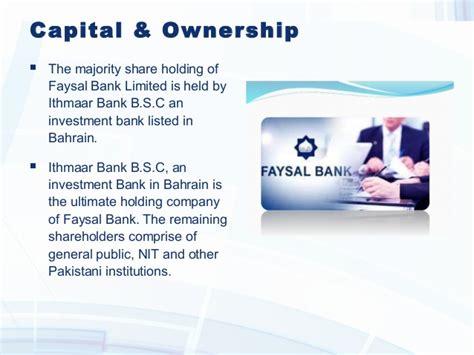 faysal islamic bank faysal bank