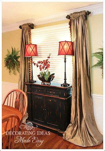 Window Curtains For Dining Room Decor Dining Room Decorating Room Decorating Ideas And Window Treatments On