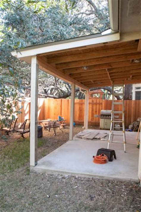 Patio Cover Diy by Covered Patio Repair Need Advice Doityourself Com