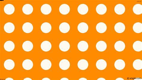 orange and white l wallpaper polka dots spots orange white ff8c00 fffaf0