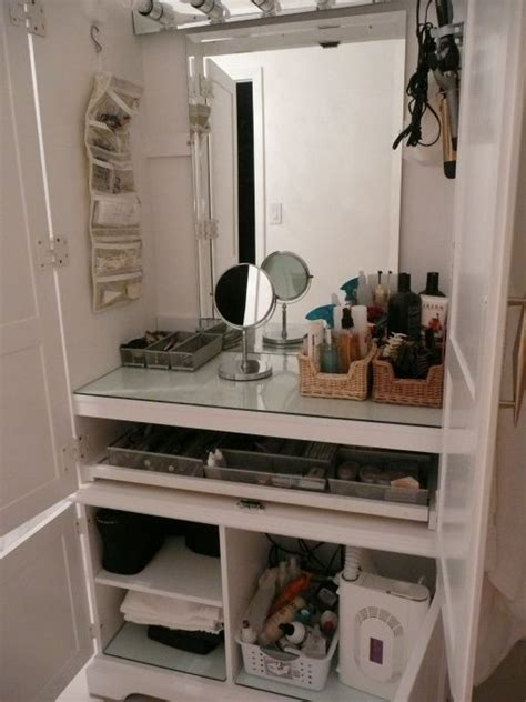 diy makeup station make up