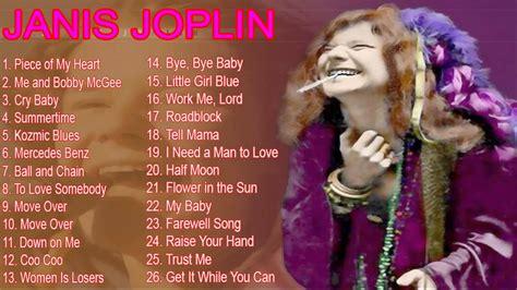 janis joplins greatest hits   janis joplin full album youtube