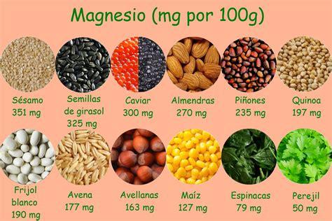en que alimentos esta el magnesio 6 vitaminas y minerales que mejoran tu cerebro taringa