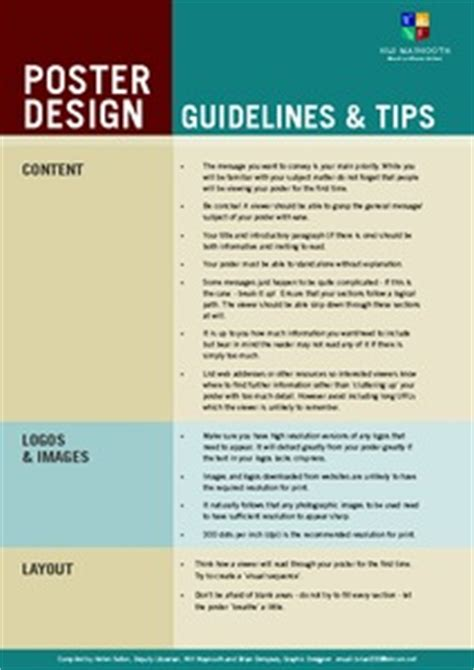 Poster Layout Guidelines | poster design tips home design ideas