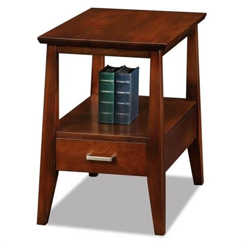 Solid Wood End Tables by Leick Furniture Delton Solid Wood Square End Table In 10406