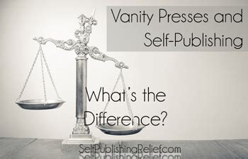 Vanity Publishing Costs by Vanity Presses And Self Publishing What S The Difference