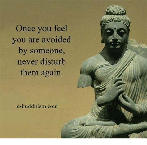 Once Again With You once you feel you are avoided by someone never disturb
