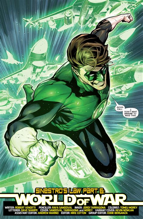 hal jordan and the page 1 duncan has ideas for green lantern corps heroic hollywood