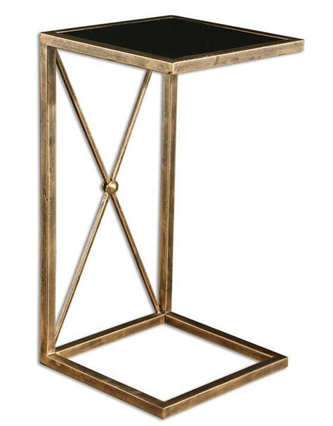 modern drink table modern c style drink table in black and gold