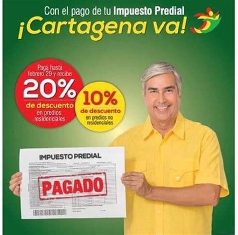 impuesto predial cartagena 2016 alcald 237 a de cartagena se toma los barrios para incentivar