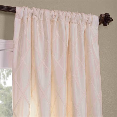 white taffeta drapes get alexandria off white taffeta faux silk curtains