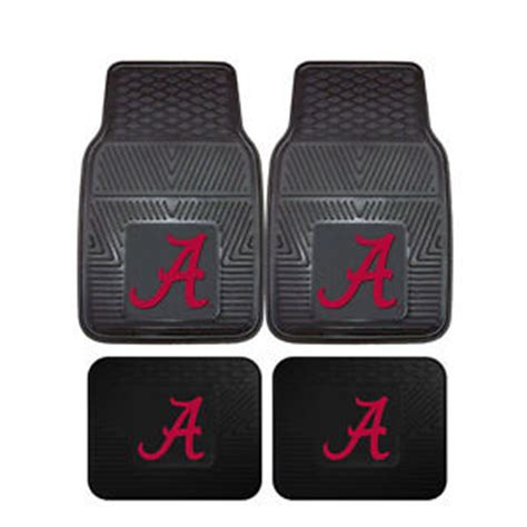 Alabama Floor Mats by New Ncaa Alabama Crimson Tide Car Truck Front Back Rubber