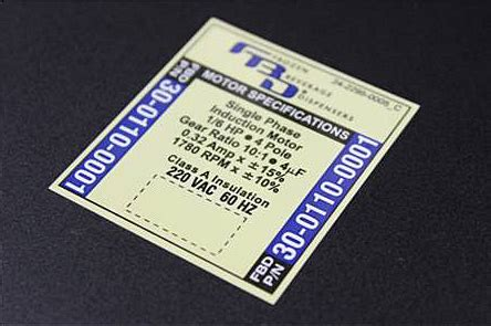 label design guide 2mil polyester nameplates marking systems label design guide