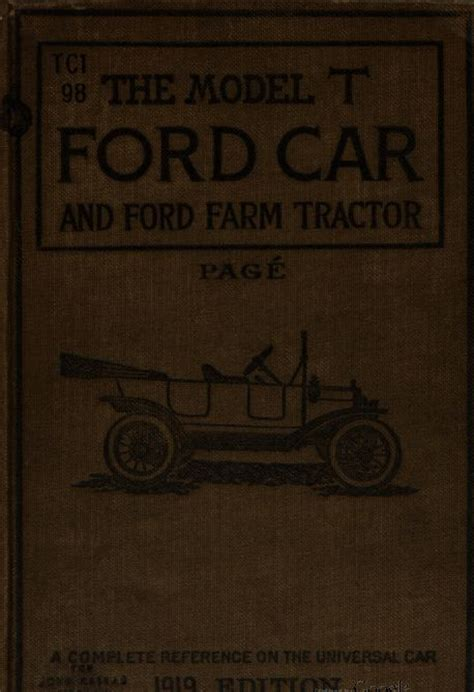 the electric automobile its construction care and operation classic reprint books classic ford model t car repair construction operation