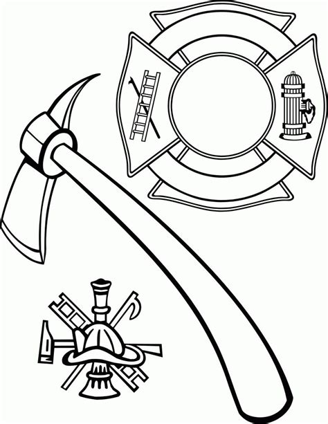 Thank You Fireman Coloring Pages by Thank You Firefighters Coloring Pages Coloring Page