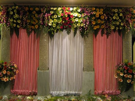 flower wedding stage decor best flower wedding stage