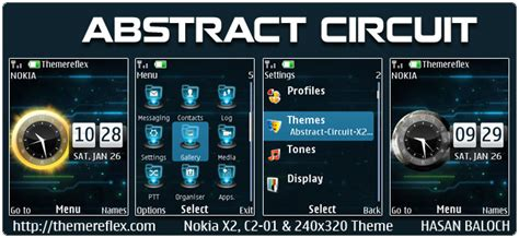 themes in nokia 2700 abstract circuit live theme for nokia x2 00 c2 01 x2 05