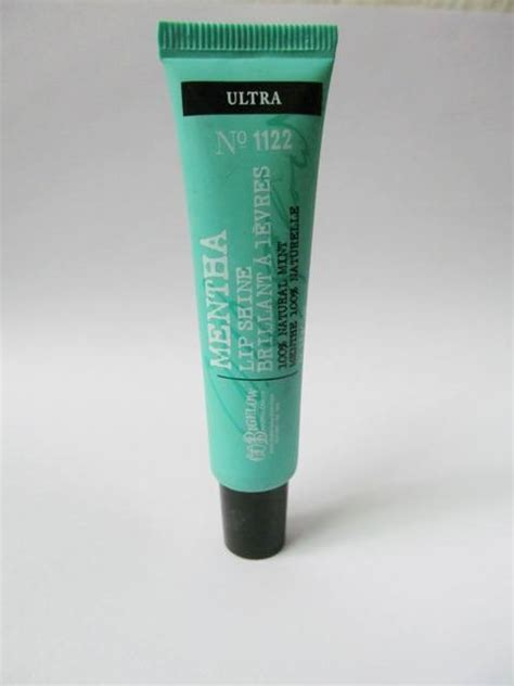 Review Co Bigelow Ultra Mentha Lip Shine c o bigelow ultra mentha lip shine