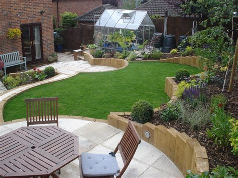 small sloped backyard how to turn small backyard landscaping into outstanding