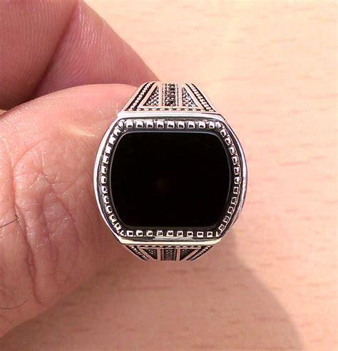 turkish jewelry 925 sterling silver black onyx
