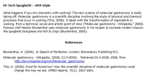 apa format exle website from exles of apa book quotes quotesgram