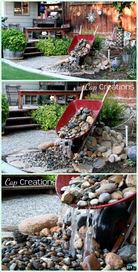 diy wheelbarrow garden projects instructions