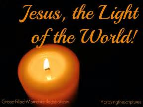 grace filled moments jesus the light of the world