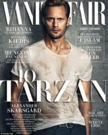 Vanity Fair Vs Vogue Heartthrob Skarsg 229 Rd Features On The Cover Of