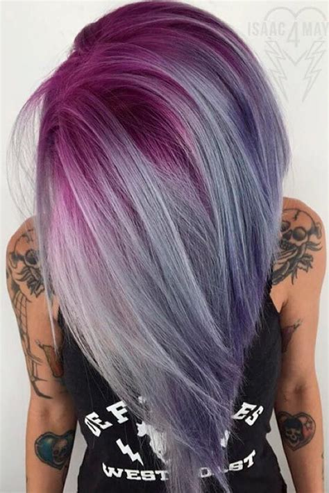 how to get purple hair color 25 best ideas about unique hair color on