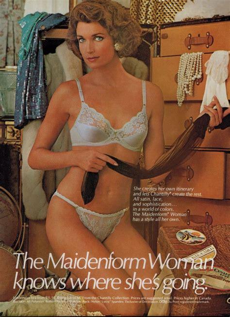 1980 wife matching bra and panties 1986 maidenform chantilly satin bra panty magazine
