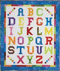 Shopfonsandporter Quilt Kits by Alphabet Quilt Kit From Shopfonsandporter Azhar
