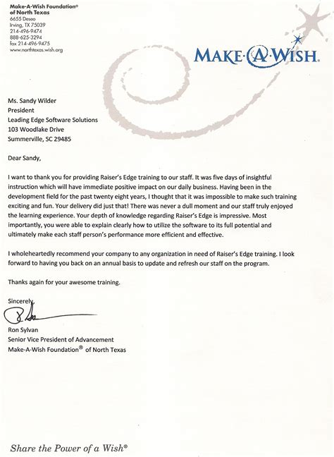 Thank You Letter Maker Notes From The Pasture What Our Clients Say Archives Raiser S Edge Consulting