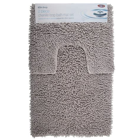 Bath Mats B M B M Gt 2pc Loop Chenille Bath Mat Set 263935