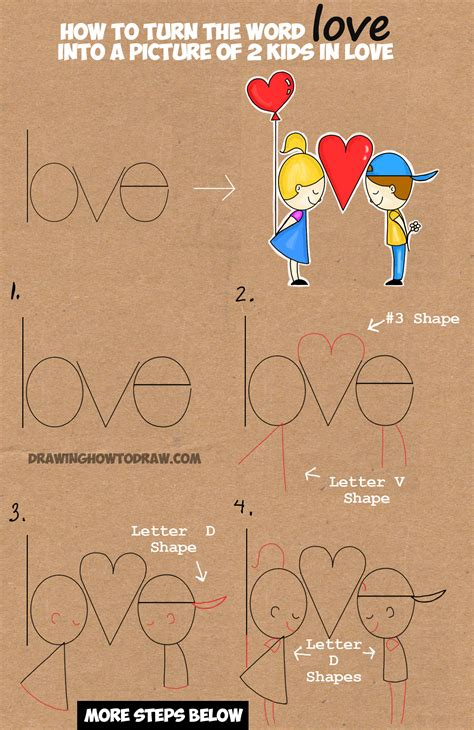 how to make a doodle name step by step words into drawings pictures to pin on pinsdaddy