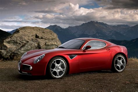 Pictures Of Alfa Romeo Cars Alfa Romeo 8c Competizione Specification Eksterior