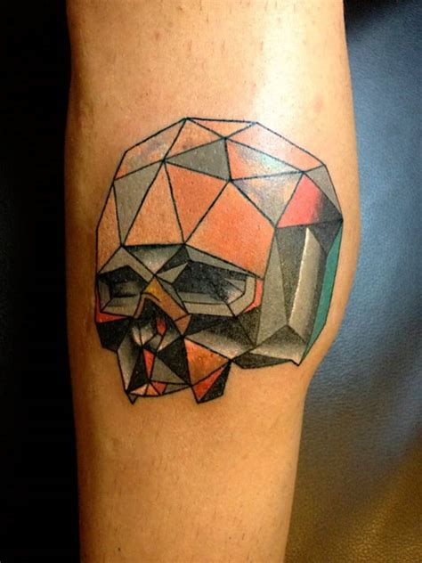 tattoo geometric color mosaic tattoos for men ideas and designs for guys