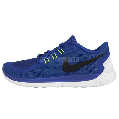youth boys athletic shoes nike free 5 0 gs blue white youth boys running