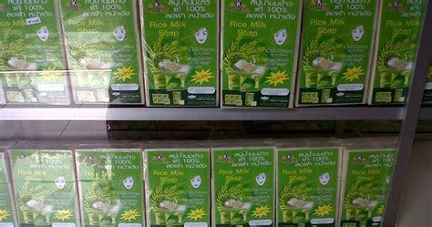 Sabun Pemutih Wajah Sabun Beras Thailand K Brothers Original bahagiashop kosmetik herbal sabun beras thailand k